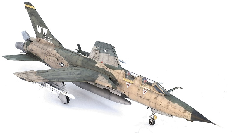 Republic F-105G Wild Weasel. Trumpeter 02202. - Страница 2 66619e49fd0780e5a80fbc13a2a097b4