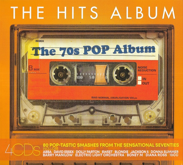 The Hits Album - The 70s Pop Album [4CD] (2019)
