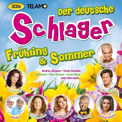 VA - Der deutsche Schlager - Frühling & Sommer (2019/3CD)