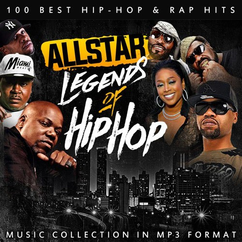VA - Legends of Hip-Hop (2019)