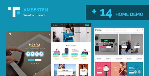 Ambesten - Themefusion Multipurpose MarketPlace RTL WooCommerce WordPress Theme