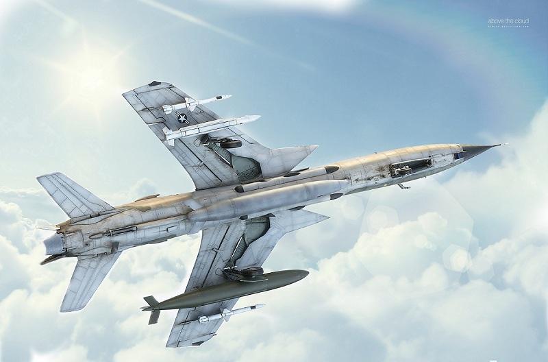 Republic F-105G Wild Weasel. Trumpeter 02202. - Страница 2 Bd45fdadb48ea62cc42e238fc2524c13