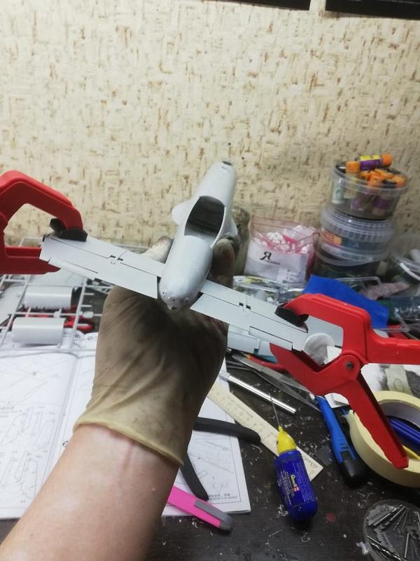 Fairchild Republic A-10 Thunderbolt II. Trumpeter 1/32. 1203f60f403cc0bbe97e0faa29ebe661