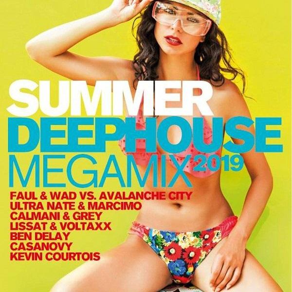 VA - Summer Deephouse Megamix 2019 [2CD] (2019)