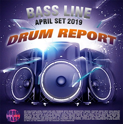 VA - Drum Report Bass Line (2019)