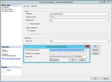 Использование Azure для бэкапа и восстановления SQL Server фото №1