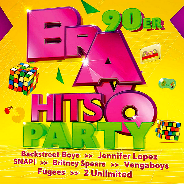 VA - Bravo Hits Party: 90er [3CD] (2019)