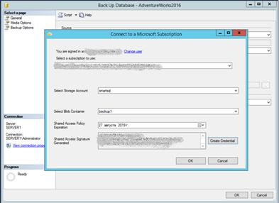 Использование Azure для бэкапа и восстановления SQL Server фото №3