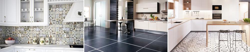 Керамическая плитка на кухню для пола и стен