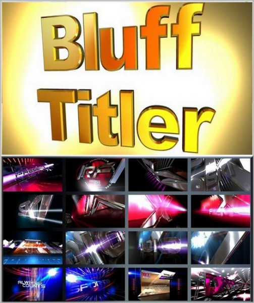 BluffTitler Ultimate 15.0.0.3 + BixPacks Collection