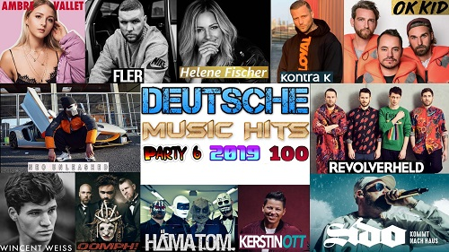 Сборник клипов - Deutsche Music Hits. Часть 6. (2019/Full HD)