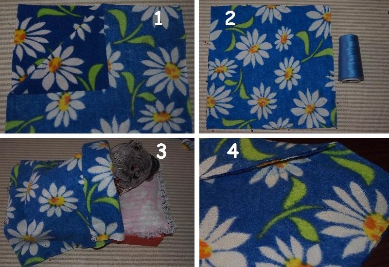 Как научить ребёнка шить. 5 занятие. Одеялко