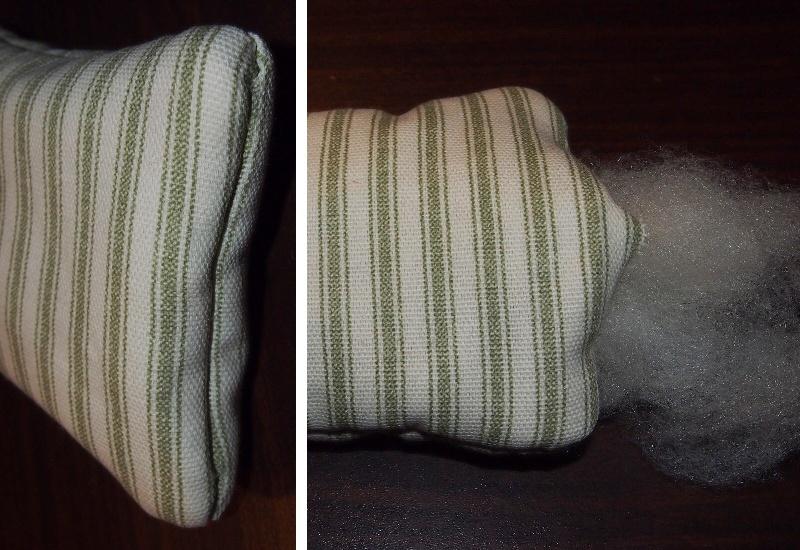 Как научить ребёнка шить. 3 занятие. Подушечка