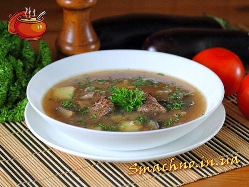 Овощные супы. 3 рецепта