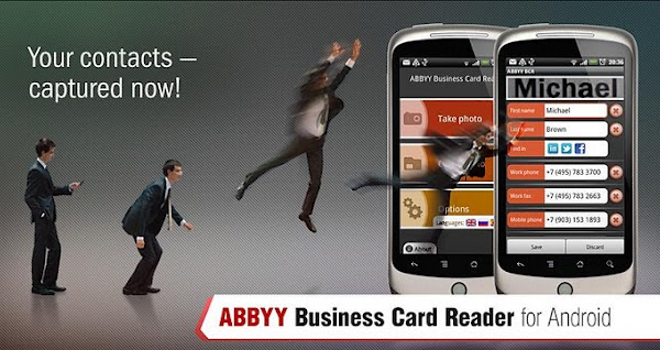 ABBYY Business Card Reader Pro - 4.21.0.3 (Android)