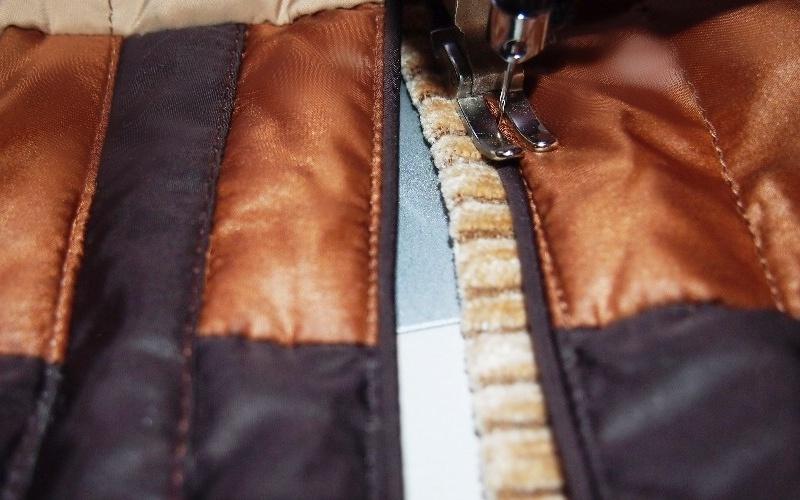 Как в пуховике переделать карманы