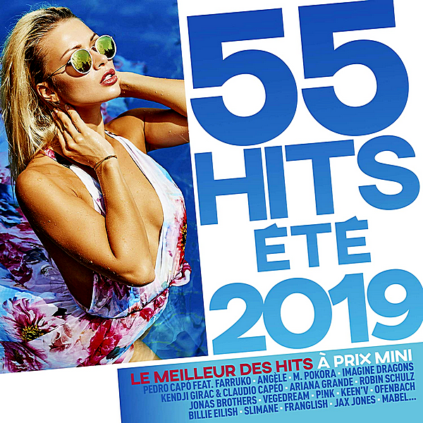 VA - 55 Hits Été 2019 [3CD] (2019)