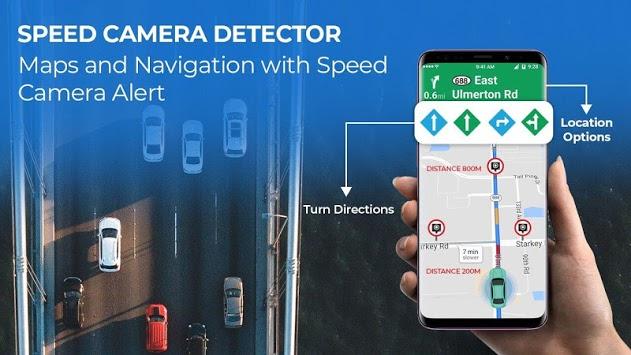 Антирадар Radarbot: Speed Camera Detector & Speedometer 6.61 Pro [Android]
