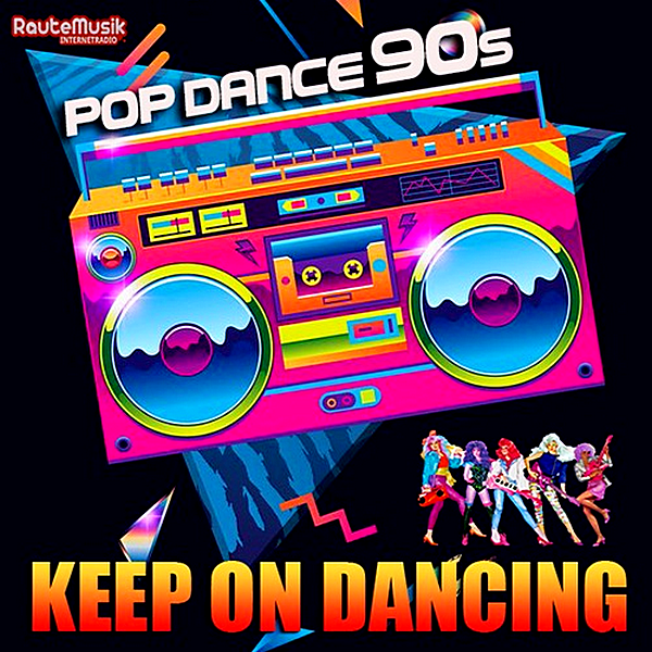 VA - Keep On Dancing: Pop Dance 90s (2019)