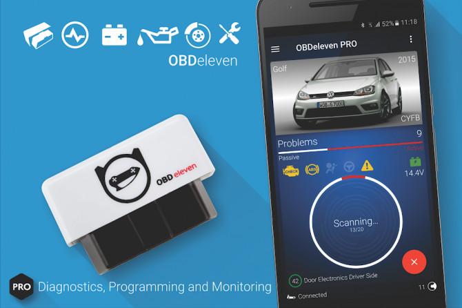 OBDeleven Pro - Aвто Диагностика VAG OBD2 Scanner 0.12.1 [Android]