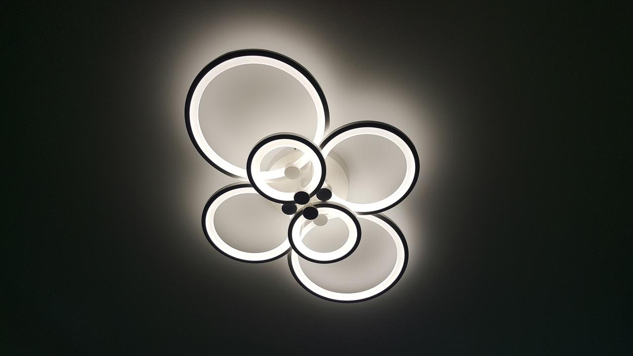 Светодиодная люстра для дома