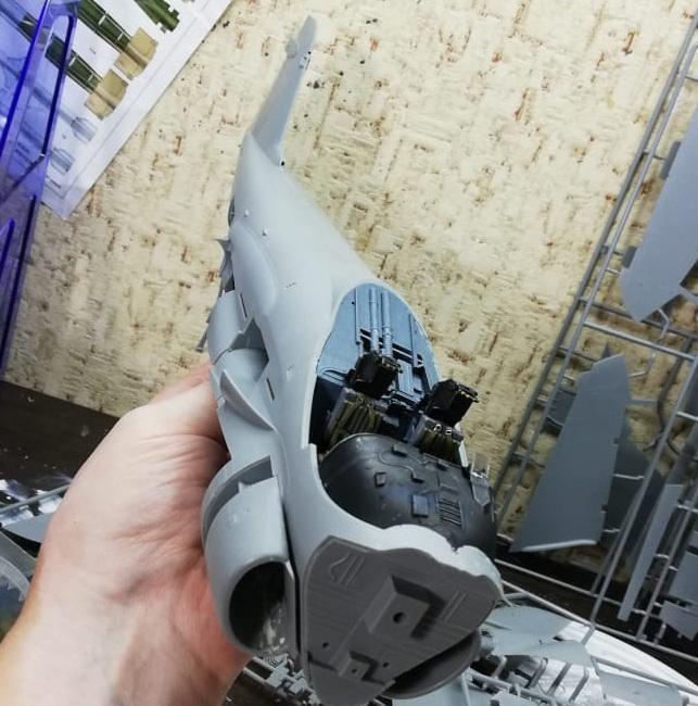 A-6A Intruder 1/32. Trumpeter 02249 75a04dab342c1192f1f735784b089fcb