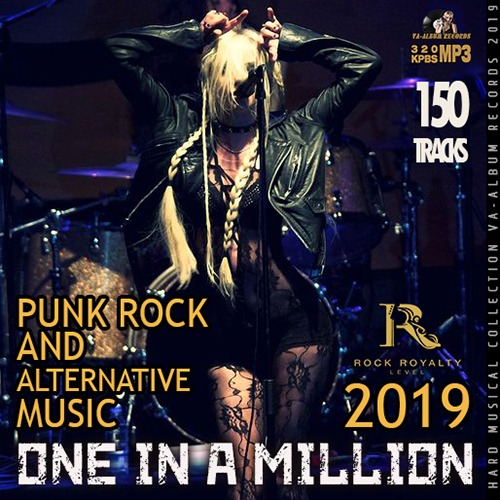 VA - One In A Million: Punk Rock Collection (2019)