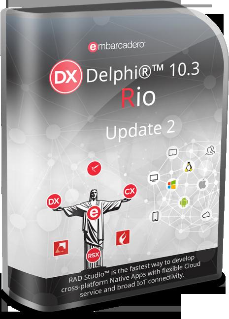 Embarcadero Delphi 10.3.2 Rio Version 26.0.34749.6593 Lite v15.2 (x86/x64)