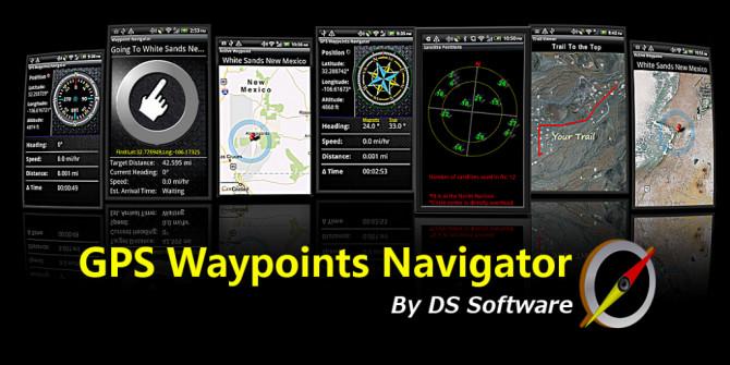GPS Waypoints Navigator 9.08 (Android)