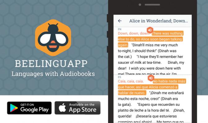 Beelinguapp: Учите языки по аудиокнигам - 2.441 Premium (Android)