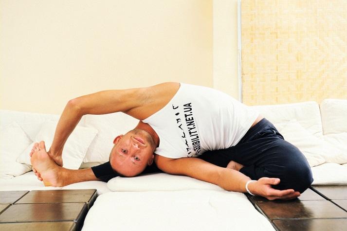 Stretching по авторской методике самого гибкого человека на Планете