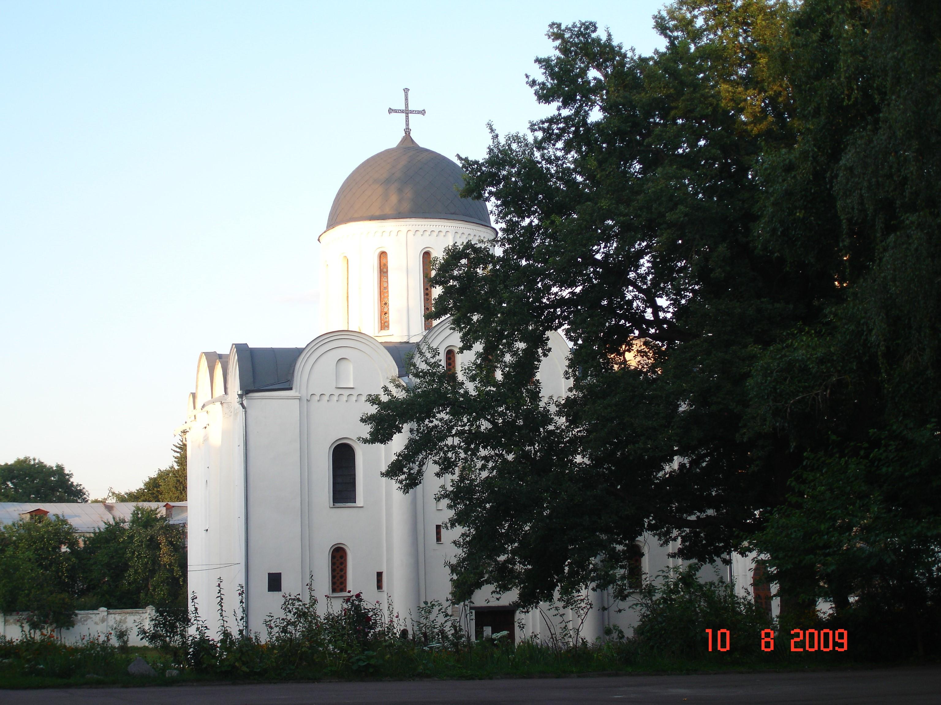 Чернігів. Борисоглібський собор (1120—1123)