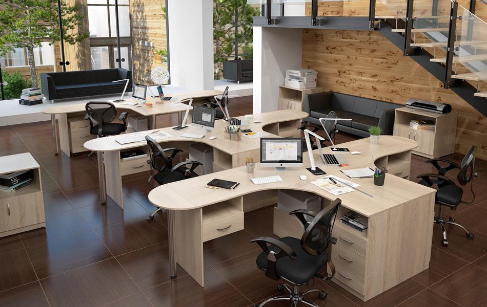 офисная мебель и диваны для офиса