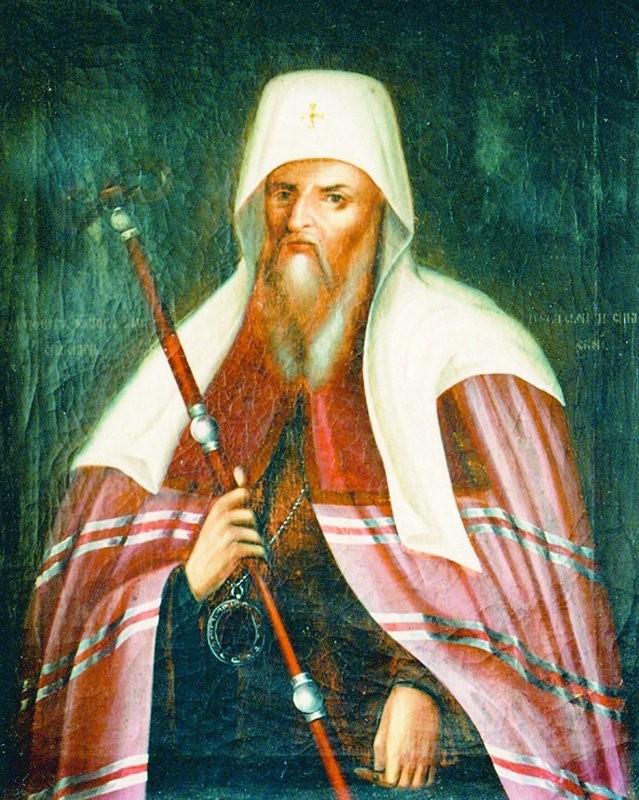 Іоанн Максимович. Портрет роботи невідомого художника