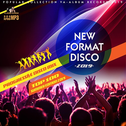 VA - New Format Disco: Progressive Mix (2019)