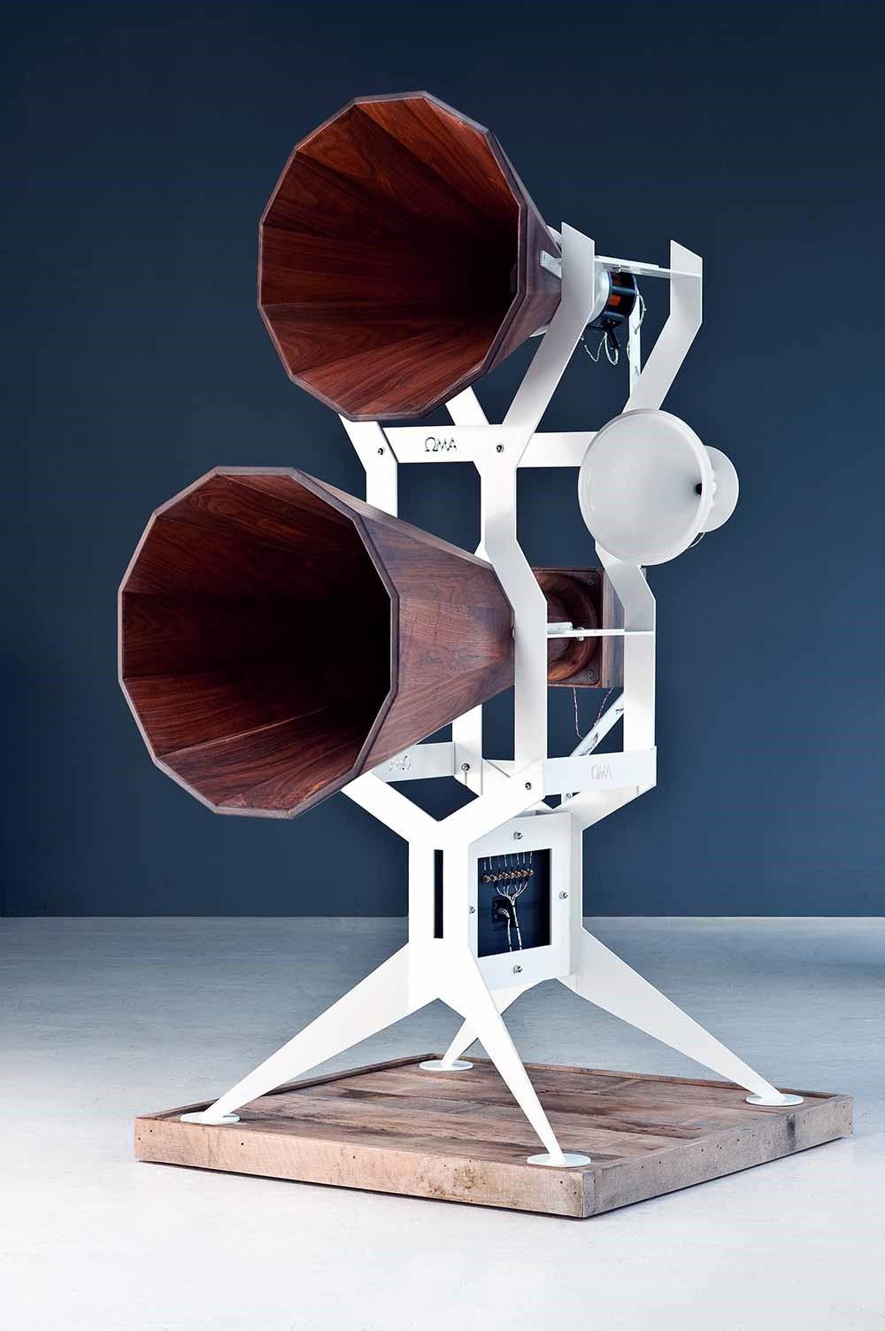 Сучасні рупорні побутові акустичні системи фірми OswaldMillAudio