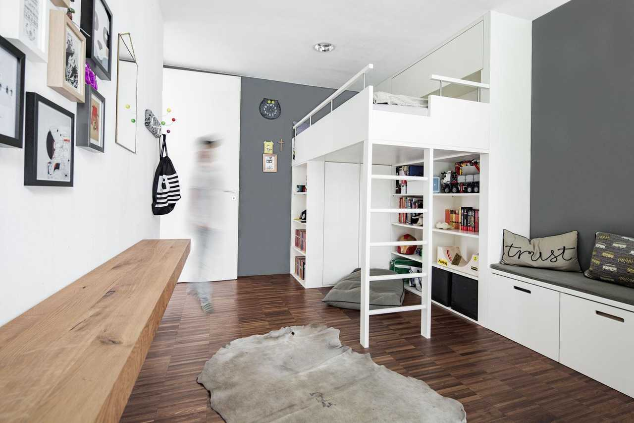 Скандинавский стиль детская комната