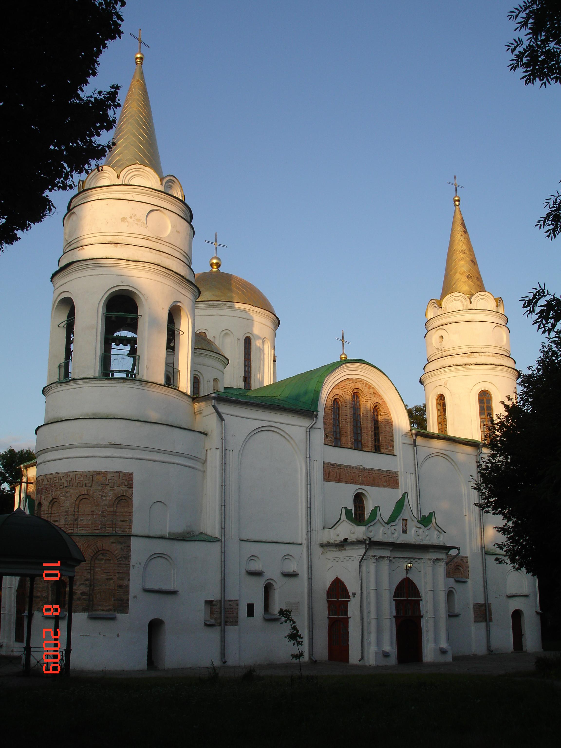 Чернігів. Спасо-Преображенський собор (близько 1033—1041).