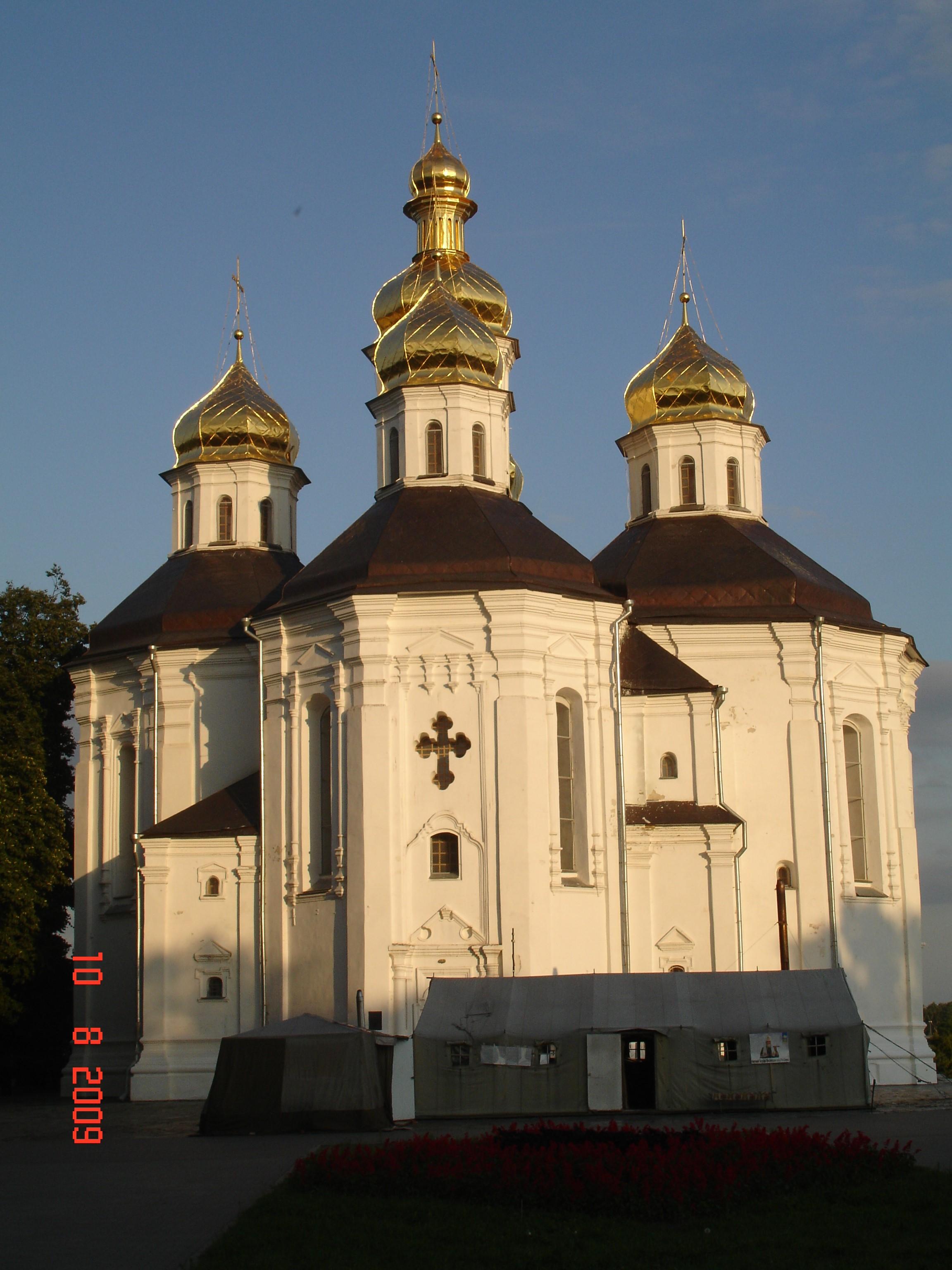 Чернігів. Катерининська церква (1715): newssky.com.ua