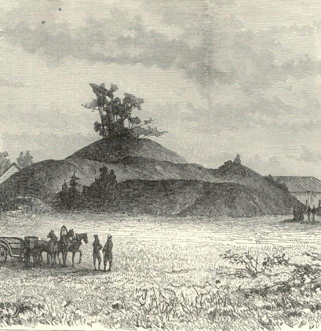 Чернігівський курган Чорна могила в 1870-ті роки