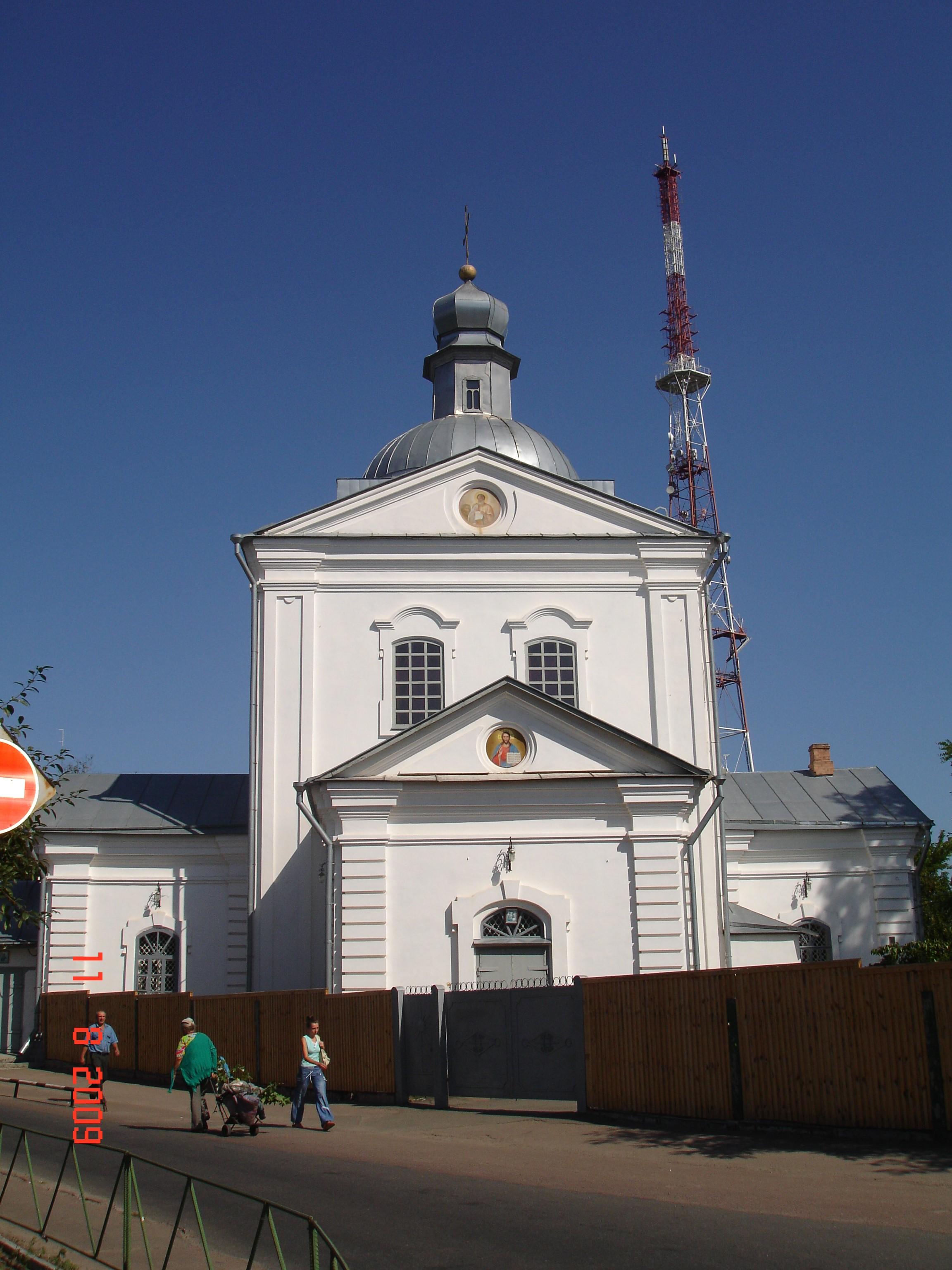 Чернігів. Воскресенська церква (1772—1775)
