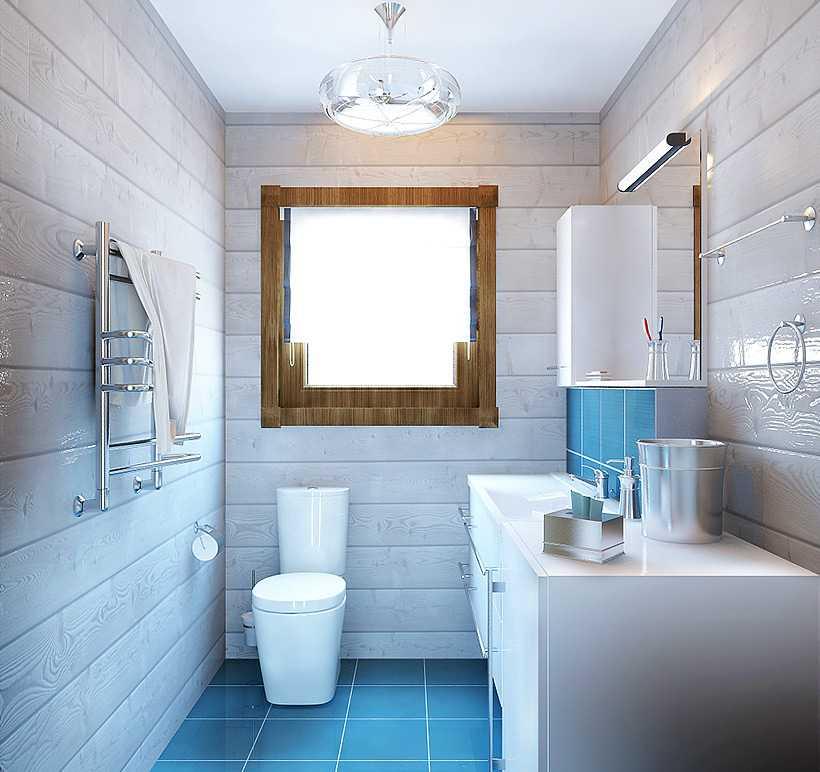 Пример люстры в туалете