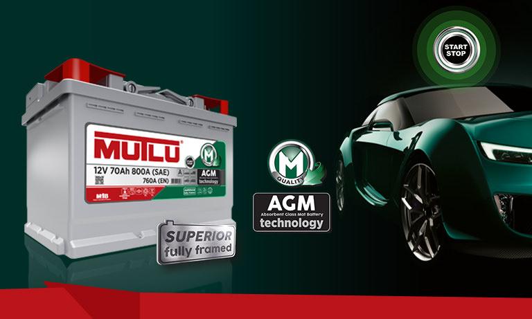 Технология Mutlu AGM в аккумуляторах