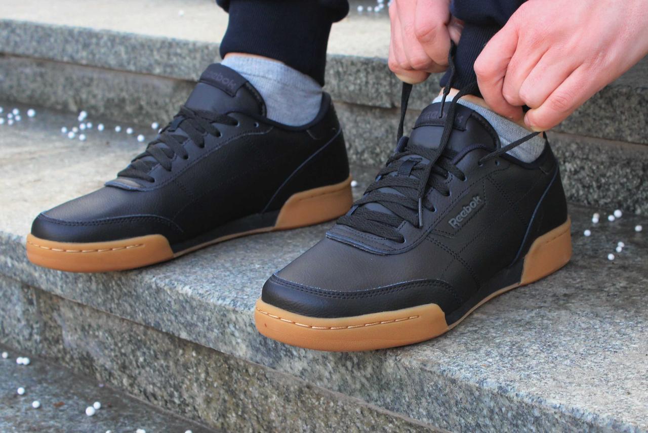 кроссовки кожаные мужские