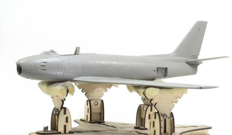 North American F-86F Sabre Jet. Italeri 1/32 5e5ce525e9d948ecc8f7d13e188e04ef