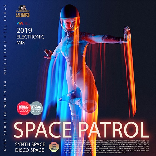 VA - Space Patrol: Synth Electronic Compilation (2019)