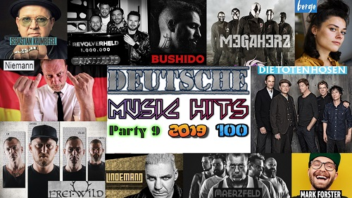 Сборник клипов - Deutsche Music Hits. Часть 9. [100 Music videos] (2019/Full HD)