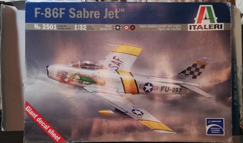North American F-86F Sabre Jet. Italeri 1/32 D63e917da235f1190ee208d5ffe5efda