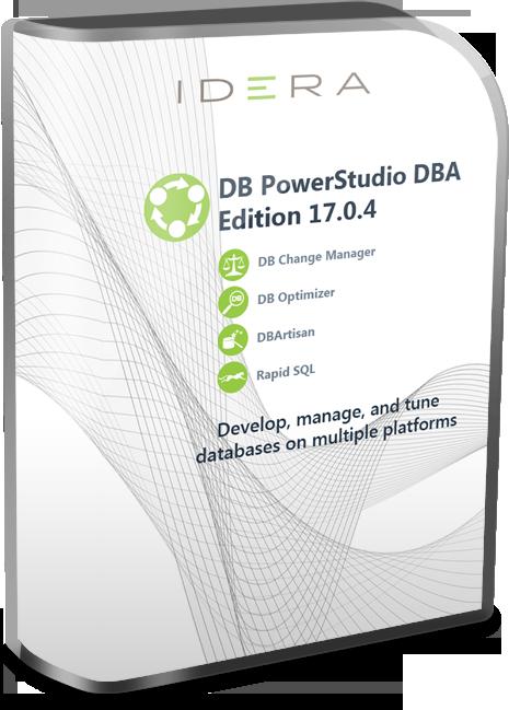 IDERA DB PowerStudio DBA Edition 17.0.4 x64