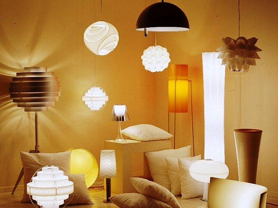 Торшеры и лампы фото